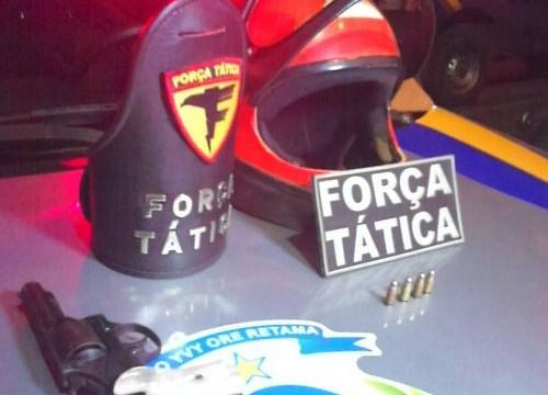 Dois são presos por roubo a Posto de Combustível em Araguaína