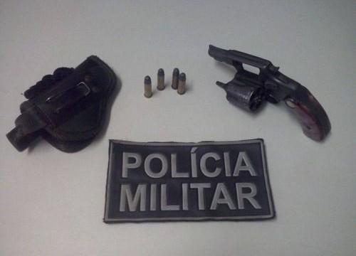 PM apreende arma de fogo em Araguaína e Nova Olinda