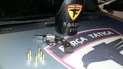 Arma de fogo é apreendida em poder de menores suspeitos em Araguaína