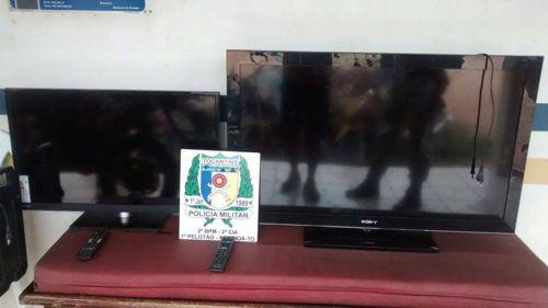Quatro homens são presos por furto a residência em Xambioá