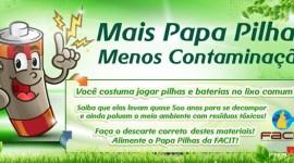 Araguaína contará com mais ecopontos para recolhimento de pilhas e baterias