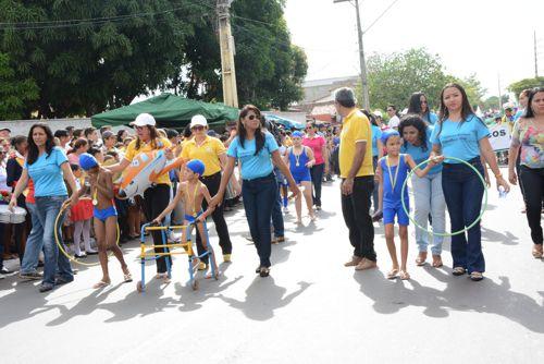Inovações e história das Olimpíadas encantam público no 7 de Setembro em Araguaína