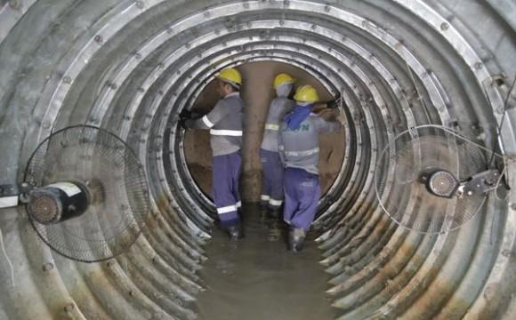 Araguaína recebe túnel subterrâneo de rede de esgoto