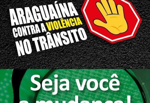 Na Semana do Trânsito, Prefeitura realizará blitz educativa em Araguaína