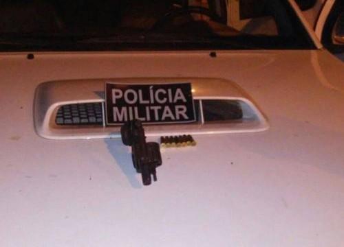 Armas de fogo são apreendidas e suspeitos presos pela PM em Araguaína e Xambioá