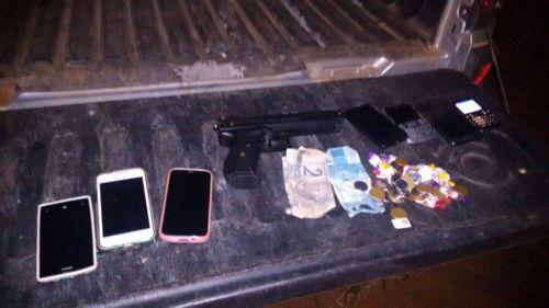 PM prende acusado de assaltos em Araguaína e apreende duas armas de fogo