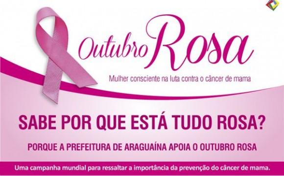 Movimento Outubro Rosa continua programação em Araguaína