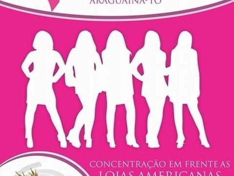 Araguaína terá Caminhada Rosa nesta segunda, 26
