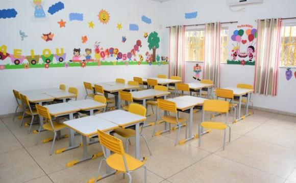 Reconstrução amplia vagas em creche na Vila Santiago
