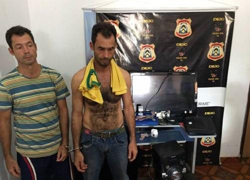 Deic de Araguaína prende duas pessoas e apreende dinheiro e objetos de origem criminosa