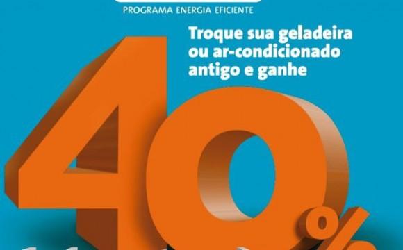 Energia Solidária oferece desconto na compra de eletrodomésticos eficientes