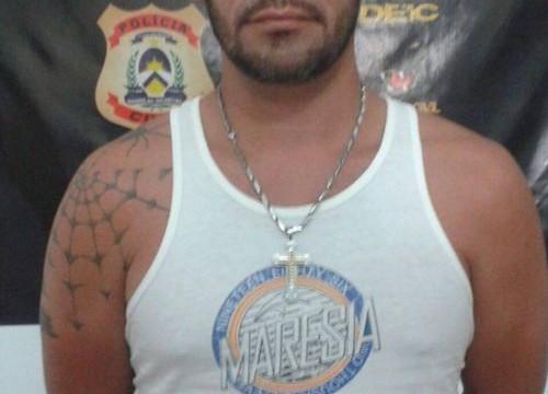 Foragido da Justiça do Paraná é preso pela Polícia Civil, em Araguaína