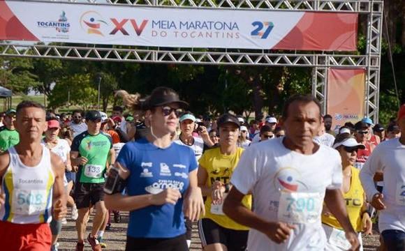 Atleta de Araguaína vence a XV Meia Maratona do Tocantins realizada em Palmas