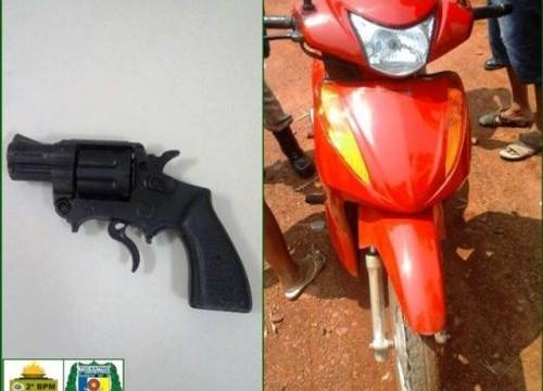Menores são apreendidos pela PM por roubo com simulacro em Araguaína