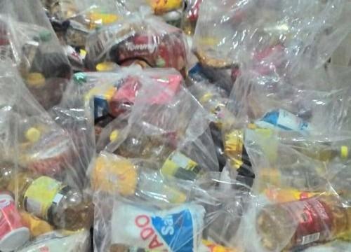 Igreja Fonte da Vida de Araguaína entrega cestas básicas neste domingo