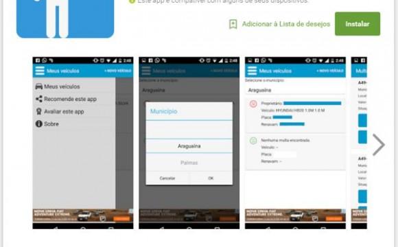 Aplicativo permite consulta de dados de veículos em Araguaína