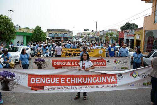 Dia D de Combate à Dengue, Chikungunya e Zika chama atenção da comunidade