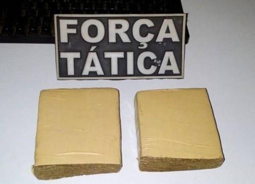 Em Araguaína, PM prende dois por posse de drogas