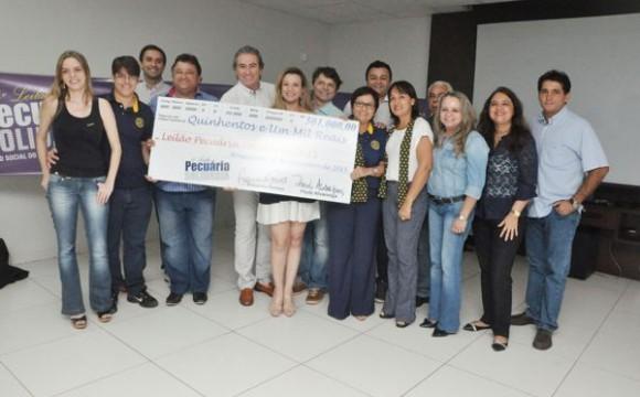 Entidades beneficiadas pelo 4º Leilão Pecuária Solidária receberão R$ 501 mil