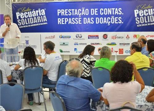 Prestação de contas da 4ª edição do Leilão Pecuária Solidária será realizada sábado, em Araguaína