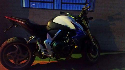 GOTE apreende motocicleta com placa clonada, no Norte do Estado
