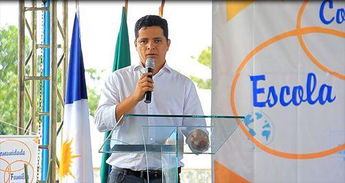 Deputado Jorge Frederico participa da aula inaugural do Colégio Militar de Araguaína