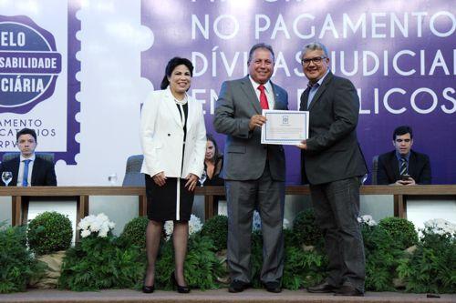 Araguaína recebe Selo de Responsabilidade Fiscal do Tribunal de Justiça