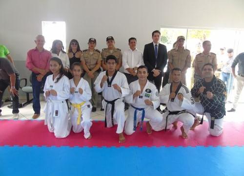 Academia de artes marciais da Polícia Militar é reinaugurada em Araguaína