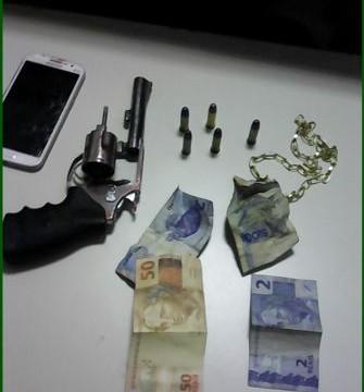 PM apreende armas e prende três em Araguaína e Alvorada