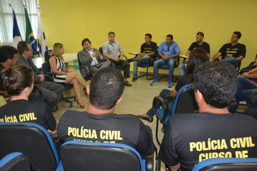 Secretário da Segurança Pública, em exercício, se reúne com aprovados no último concurso da instituição