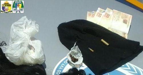 PM apreende munições e drogas em Araguaína