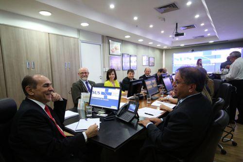 Marcelo Miranda se reúne com ministro da Saúde e pede força-tarefa para o Tocantins