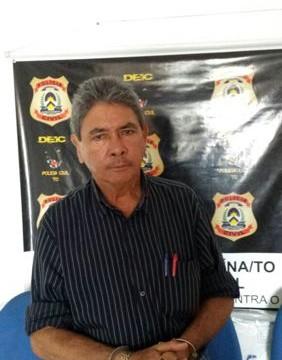 Polícia Civil prende ex-prefeito de Nova Olinda por crime de responsabilidade