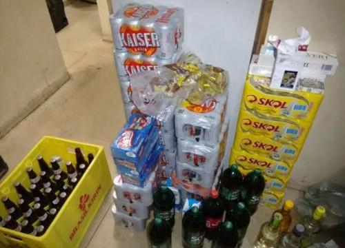 PM detém cinco indivíduos suspeitos de furto e recupera produtos em Araguaína