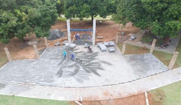 Infraestrutura já torna Parque Cimba ponto de encontro e esporte