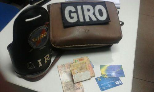 PM prende em flagrante acusado de roubo em Araguaína