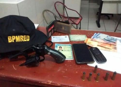 PM apreende arma de fogo e prende suspeitos na Rodovia TO-222