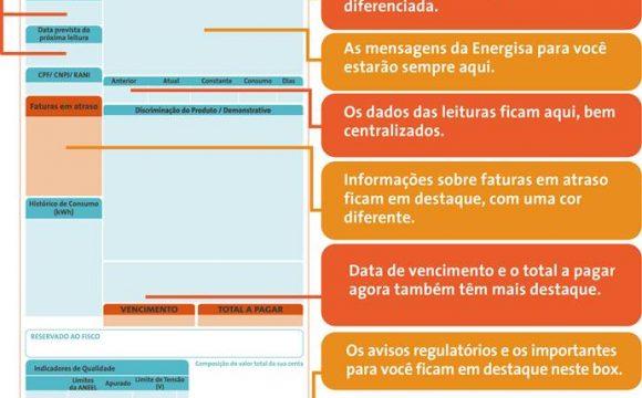 Energisa Tocantins tem nova conta de energia elétrica