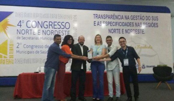 Araguaína ganha prêmio com trabalho de prevenção e controle da hanseníase