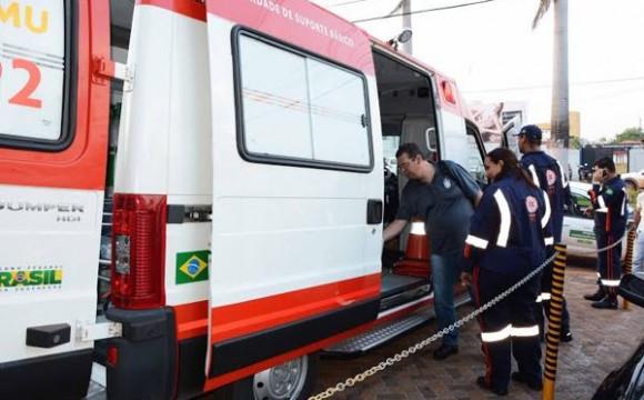 Prefeitura de Araguaína renova frota de veículos do SAMU