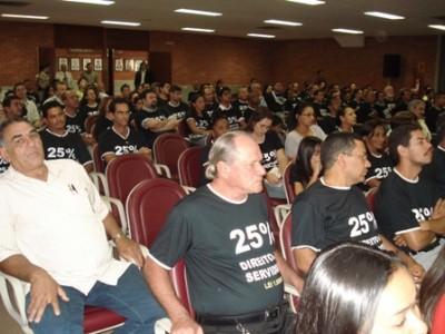 SISEPE-TO comemora decisão do STF que determina que Governo incorpore 25% aos salários servidores do Quadro Geral