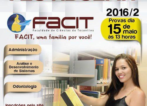 Conheça mais sobre os cursos oferecidos pela FACIT no Vestibular 2016/2