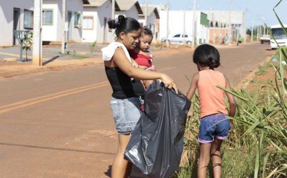 Prefeitura e moradores do Residencial Lago Azul III mobilizam-se no combate ao Aedes