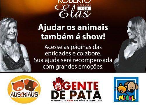 "Espetáculo ""Roberto Carlos por elas"" fará contribuição social"