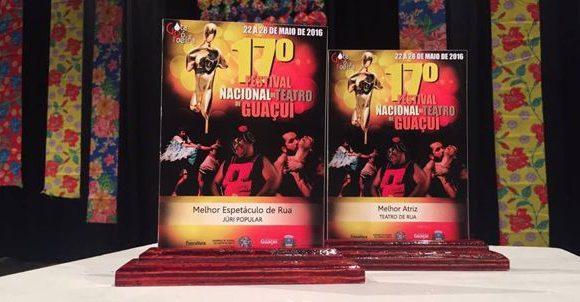 Teatro de Araguaína ganha prêmios nacionais no Espírito Santo