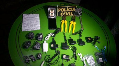 Polícia Civil prende homem suspeito de facilitar entrada de objetos no presídio Barra da Grota