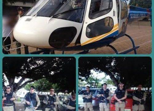 Operação Conjunta entre as Polícias Militar e Civil e Militar acontece em Araguaína com apoio de aeronave da SSP