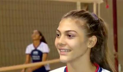 Atleta de Araguaína disputará voleibol em jogos estudantis da Europa