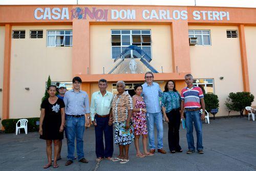 Leiloeiro Eduardo Gomes visita entidades contempladas pelo Leilão Pecuária Solidária em Araguaína
