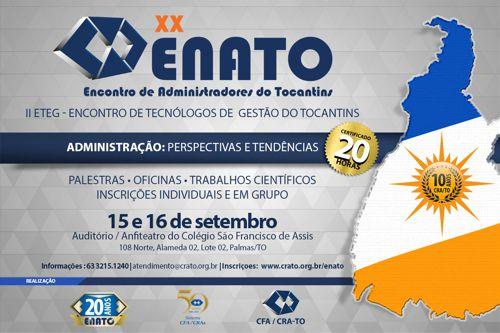 XX Enato e II Eteg propõe reflexão com tema do evento